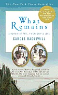 What Remains A Memoir of Fate Friendship & Love