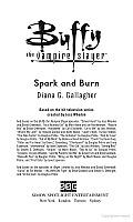 Spark & Burn Buffy The Vampire Slayer
