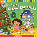 Dora the Explorer 8x8 #17: Dora's Starry Christmas Cover