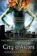 City of Ashes (Mortal Instruments #02) Cover