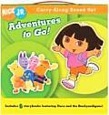 Adventures to Go! (Nick JR. Carry-Along Boxed Set)
