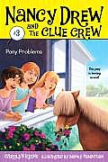 Nancy Drew and the Clue Crew #03: Pony Problems Cover