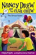 Nancy Drew and the Clue Crew #07: The Circus Scare Cover