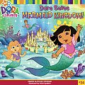 Dora the Explorer 8x8 #24: Dora Saves Mermaid Kingdom! Cover