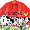 Click, Clack, Moo: Cows That Type: A Book and Play Set [With 8 Removable Play Pieces]