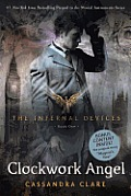 Infernal Devices #01: Clockwork Angel Cover