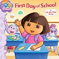 Dora the Explorer First Day of School A Lift the Flap Story
