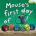 Mouse's First Day of School (Classic Board Books) Cover