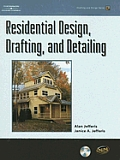 Residential Design, Drafting, and Detailing with CDROM (Drafting and Design) Cover