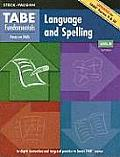 TABE Fundamentals: Language and Spelling, Level M