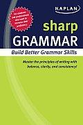 Sharp Grammar Building Better Grammar Skills