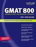 Kaplan Gmat 800 2007 2008 Edition