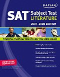 Kaplan SAT Subject Test: Literature (Kaplan SAT Subject Tests: Literature) Cover