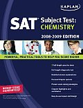 Kaplan SAT Subject Test: Chemistry (Kaplan SAT Subject Tests: Chemistry) Cover