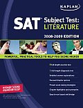 Sat Subject Test Literature 2008 2009