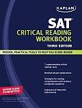 Sat Critical Reading Workbook 3rd Edition 2008