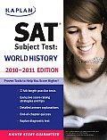 Kaplan Sat Subject Test World History 2010