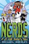 Nerds (National Espionage, Rescue, & Defense Society) #02: M Is for Mama's Boy Cover