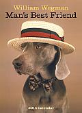 William Wegman Man's Best Friend Calendar
