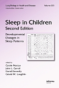 Sleep in Children: Developmental Changes in Sleep Patterns