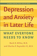 Depression and anxiety in later life; what everyone needs to know