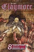 Claymore #08 Cover