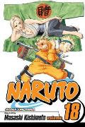Naruto, Volume 18 [With Stickers]