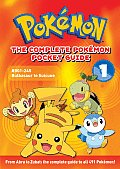 The Complete Pokemon Pocket Guide 1: #001-245 Bulbasaur to Suicune