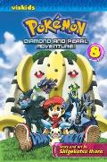Pokemon Diamond & Pearl Adventure! #08: Pokemon Diamond and Pearl Adventure!, Volume 8 Cover