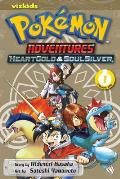 Pokemon Adventures: Heart Gold Soul Silver #01: Pokemon Adventures: HeartGold & SoulSilver, Volume 1