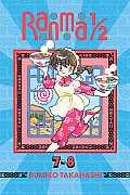 Ranma 1/2 #4: Ranma 1/2 (2-In-1 Edition), Volume 4: Volumes 7, 8