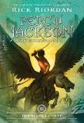 The Titan's Curse: Percy Jackson and the Olympians, Book 3 (Percy Jackson and the Olympians #03) Cover