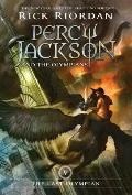 Percy Jackson &amp; the Olympians #05: The Percy Jackson and the Olympians, Book Five: Last Olympian Cover