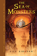 The Sea of Monsters: Percy Jackson and the Olympians, Book Two (Percy Jackson and the Olympians #02) Cover