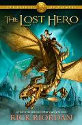The Lost Hero (Heroes of Olympus #01) Cover
