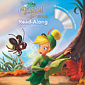 Tinker Bell & the Lost Treasure Read Along Storybook & CD