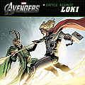Marvel Avengers Battle Against Loki
