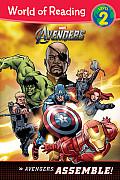 Avengers Assemble Level 2 Reader
