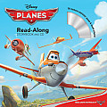 Planes Read Along Storybook & CD