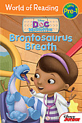 Doc McStuffins Brontosaurus Breath (World of Reading: Level Pre-1)