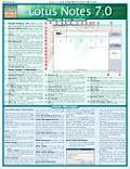 Lotus Notes 7.0 Laminated Reference Chart