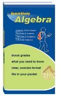 Quick Study for Algebra