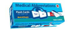 Medical Abbreviations Flash Cards (Academic)
