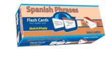 Spanish Phrases Flash Cards (Quickstudy: Academic) Cover