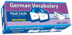 German Vocabulary Flash Cards
