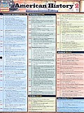 American History 2 (Updated) Laminated Reference Guides (Academic) Cover