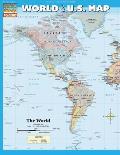 World & U S Map