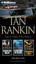 Ian Rankin Inspector Rebus CD Collection: Resurrection Men, a Question of Blood, Fleshmarket Alley