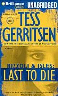 Rizzoli & Isles #10: Last to Die
