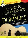 Acoustic Guitar Songs for Dummies (For Dummies) Cover